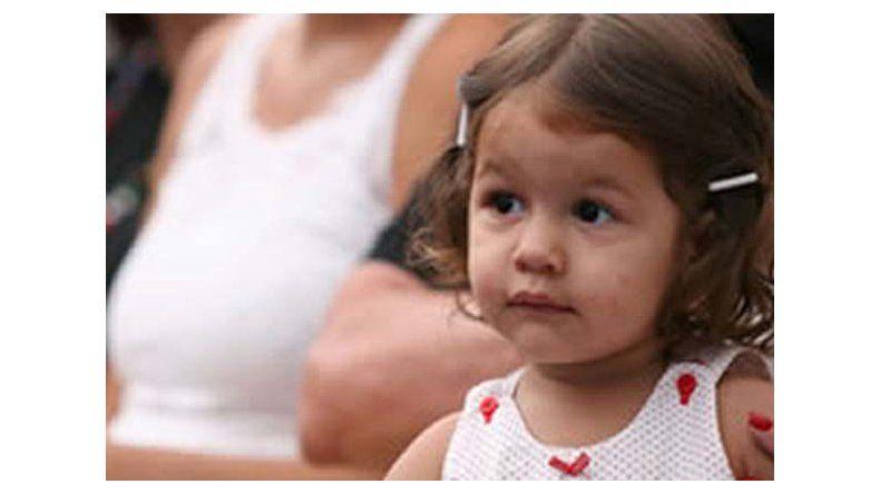 Internaron en Chile a la hija mayor de Pampita