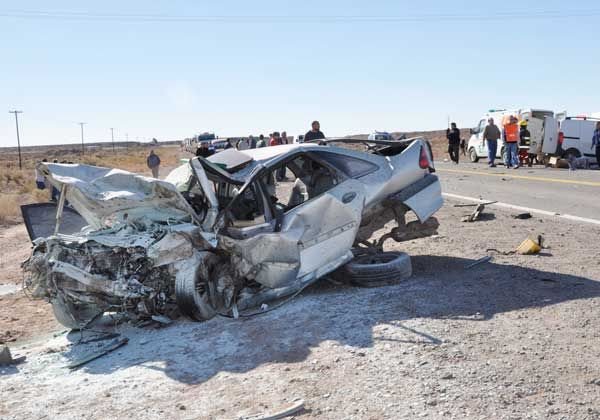 Un muerto en un choque en Ruta 151