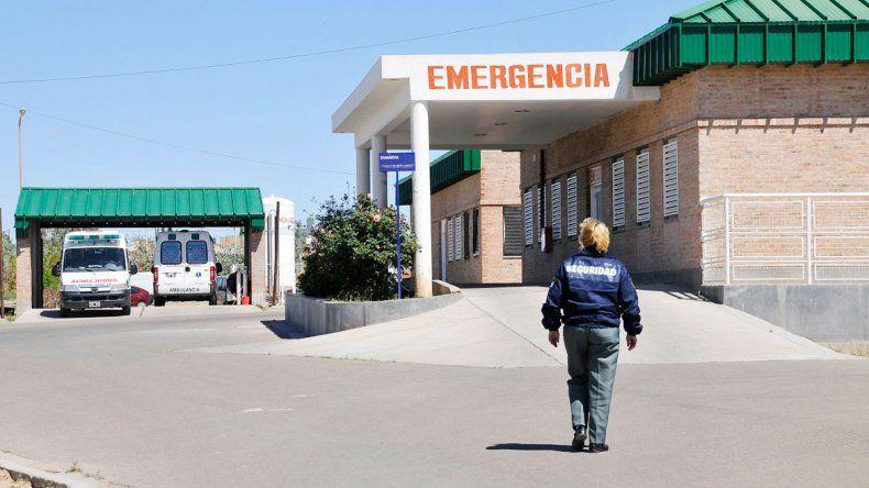 Los heridos fueron atendidos en la guardia del hospital de Cutral Co.