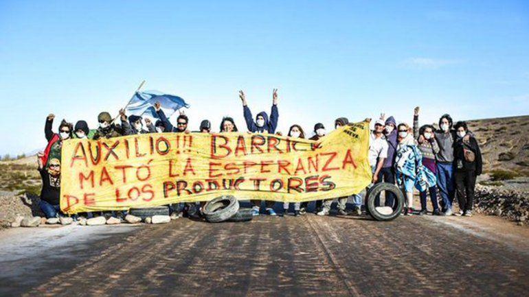 Reprimieron una protesta contra la Barrick Gold