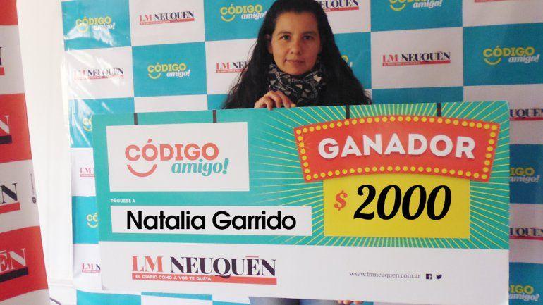 Natalia Garrido.