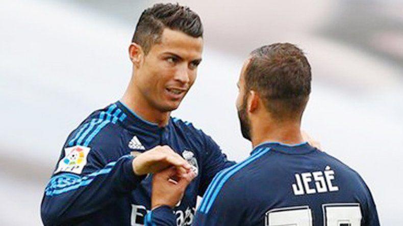 Cristiano Ronaldo hizo el primero del Real