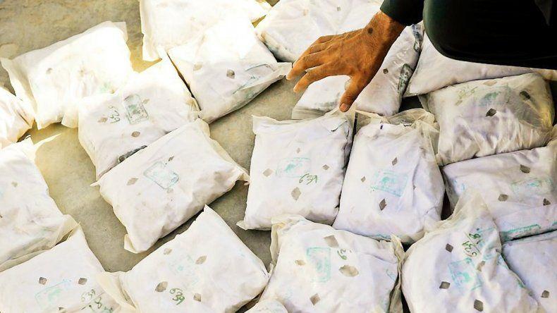 Las autoridades libanesas aseguran que se trata de la mayor incautación de drogas en un aeropuerto del país.