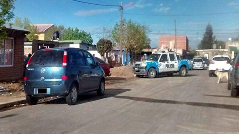 La Policía logró detener a los tres hombres a las pocas cuadras.