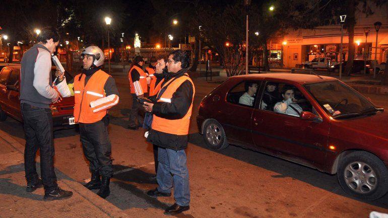 Secuestraron 24 vehículos por alcoholemia positiva durante el fin de semana