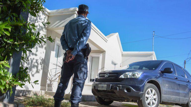 El robo se registró en una vivienda del barrio Mercantiles.