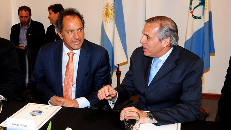 Sapag sigue apostando a Scioli como el próximo presidente