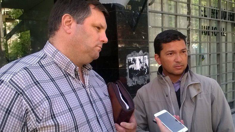 Eduardo Romero y Abel Ríos estaban a cargo del taller de carpintería cuando Aboy se escapó de la U11.
