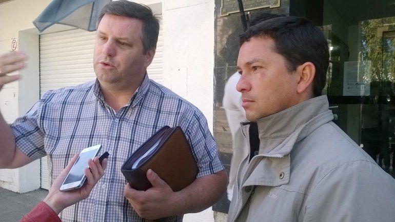 Los penitenciarios exonerados Ríos y Romero