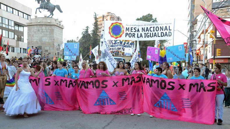 Por la ley antidiscriminatoria, se realizará la Marcha del Orgullo LGBT