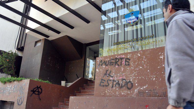En la oficina judicial de calle Yrigoyen le formularon los cargos al petrolero.