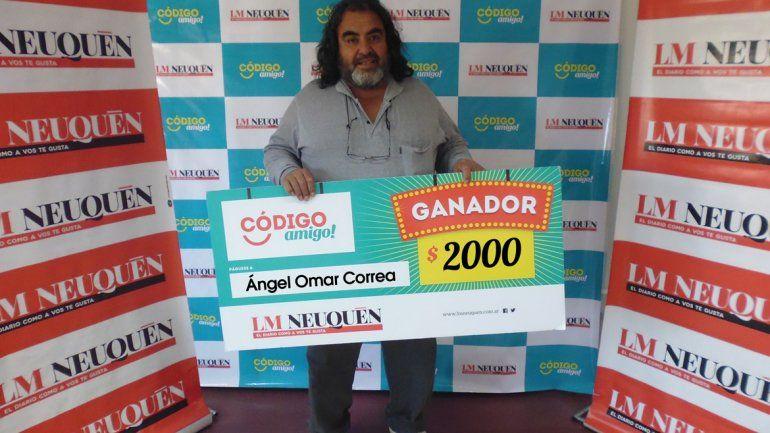Miguel se quedó con el premio del Código Amigo tres veces