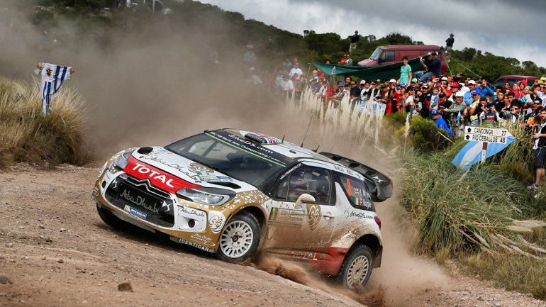 Rally Mundial en Argentina.