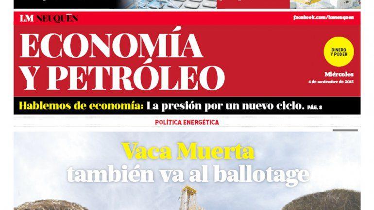 Economía y Petroleo.