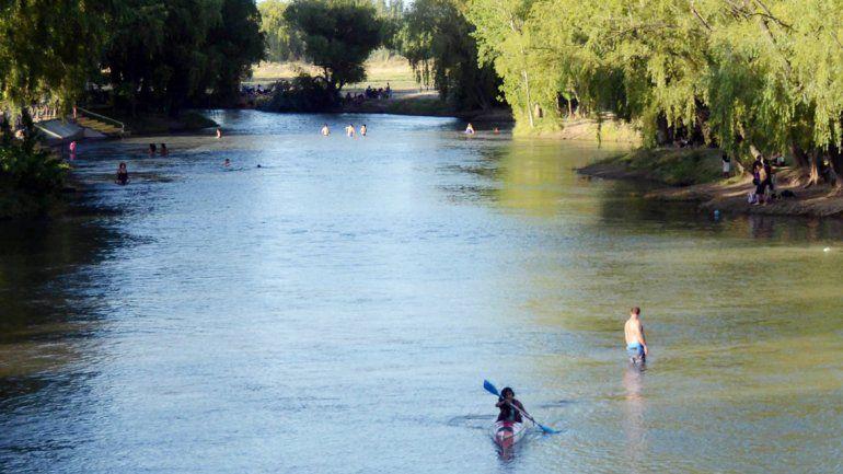 Las aguas del Limay