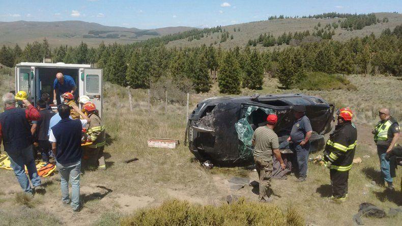 Accidente Junín de los Andes.