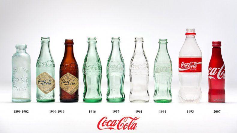 La botella de Coca Cola está de festejo.