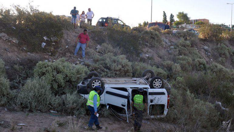 El accidente se registró pasadas las 18.