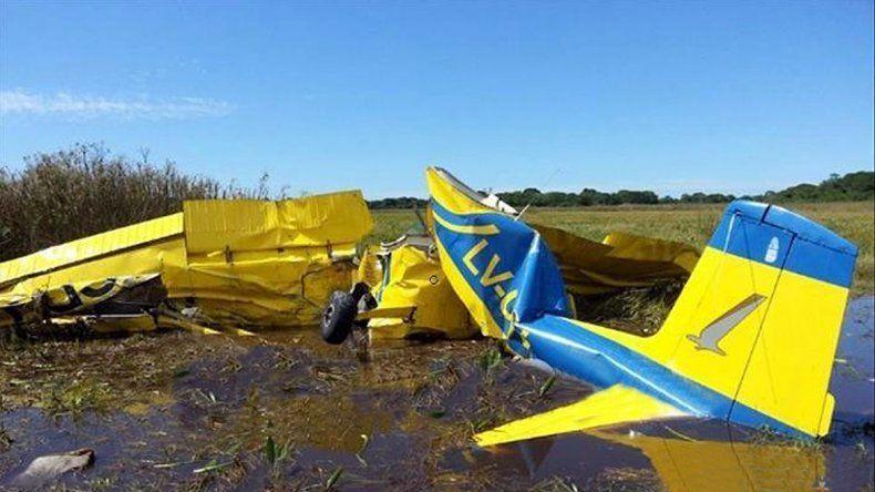 No se salvó nadie. Aún no se sabe por qué cayó la avioneta.