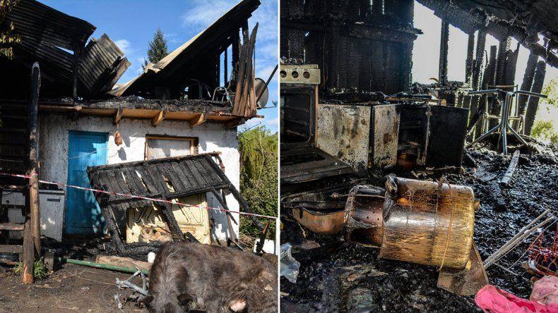 Se salvaron de milagro, pero perdieron todo en un incendio