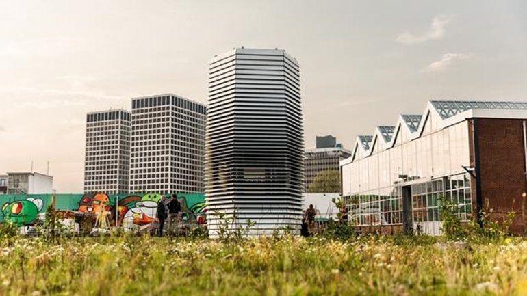 Fue inaugurada el 4 de septiembre y queda adentro de un parque.