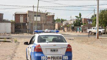 La Policía reforzó los patrullajes en las calles internas de la toma.