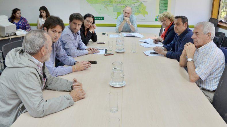 Los concejales se reunieron con la conducción de la cámara Acipan.