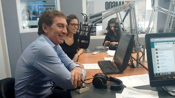 Diego Santilli y Laura Alonso en LU5.