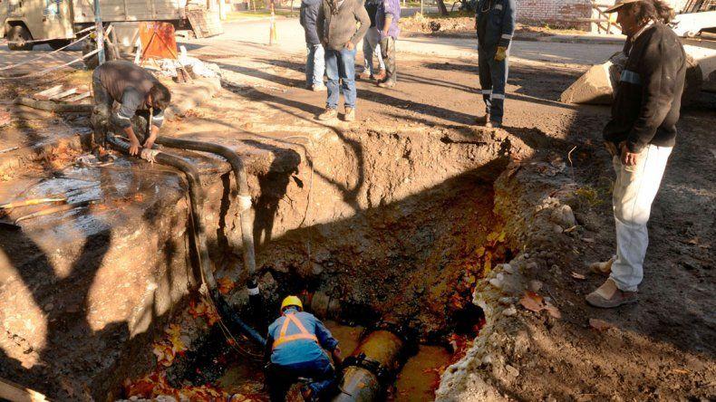 Habrá baja presión de agua en Santa Genoveva