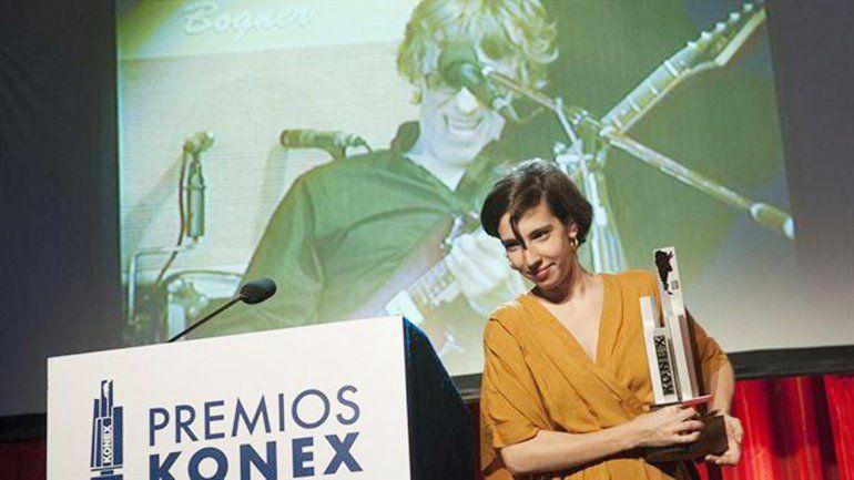 Luis Alberto Spinetta recibió el Konex de honor