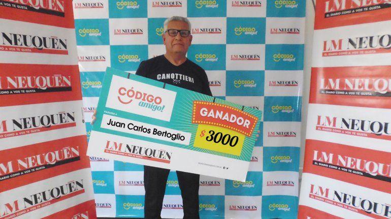 Juan Carlos Bertoglio.