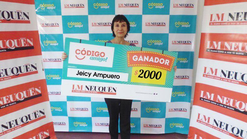 Jeicy Ampuero.