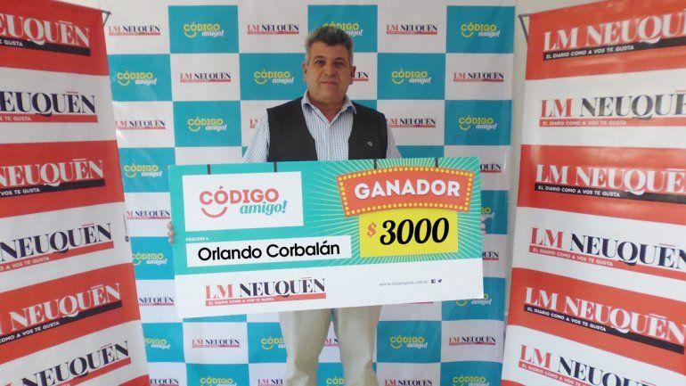 Orlando Corbalán.