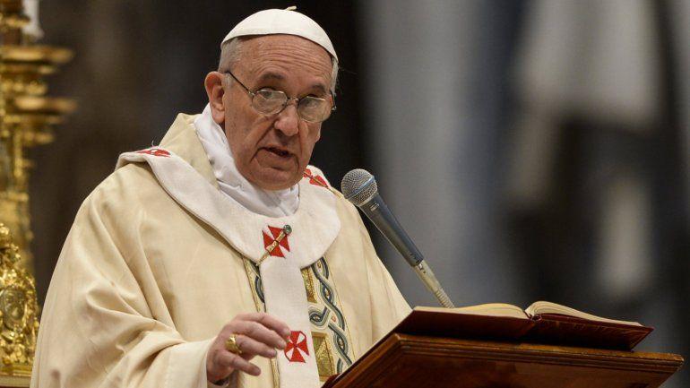 El papa Francisco llamó a los argentinos a votar con conciencia