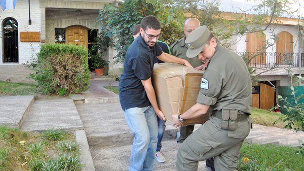 Gendarmería desbarató dos kioscos de droga