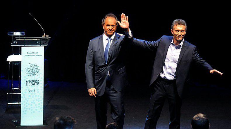 El debate presidencial tuvo más de 50 puntos de rating