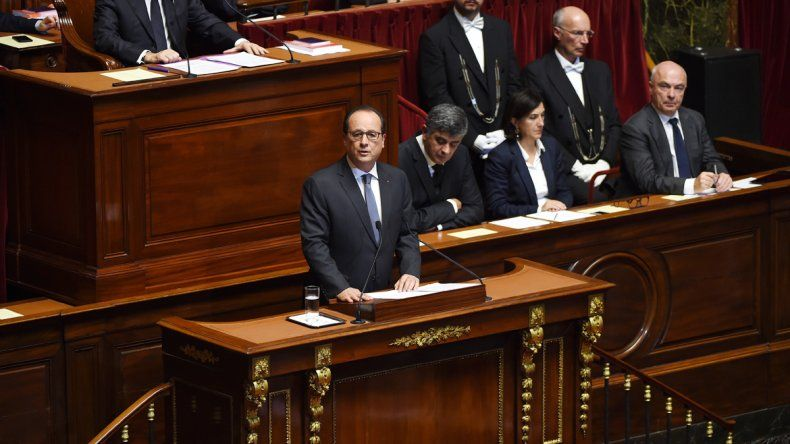 El presidente François Hollande