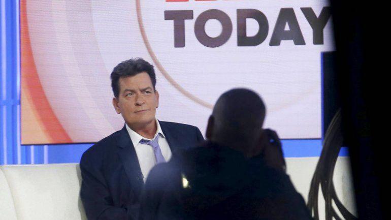 El actor de Two and a Half Men se hizo presente en el programa Today.