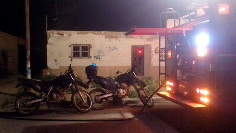El incendio se registró en una vivienda en calle San José 1.300.