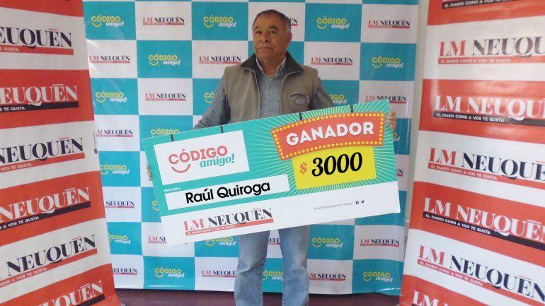 Raúl Quiroga.