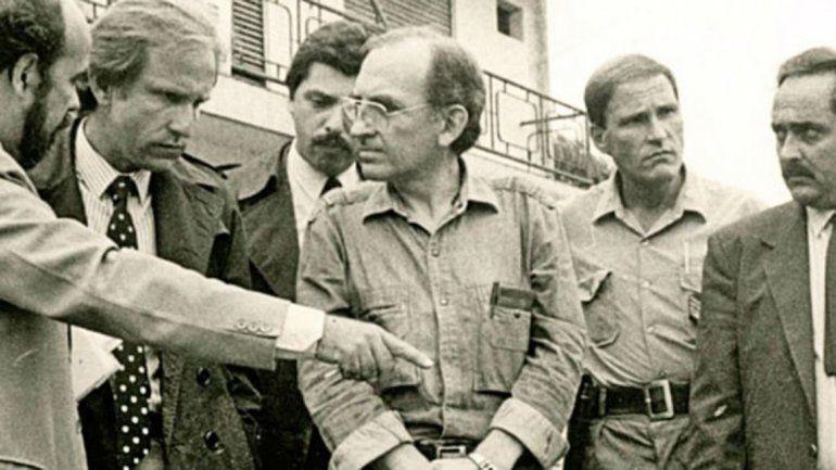 Guillermo Fernández Laborda al momento de su detención.