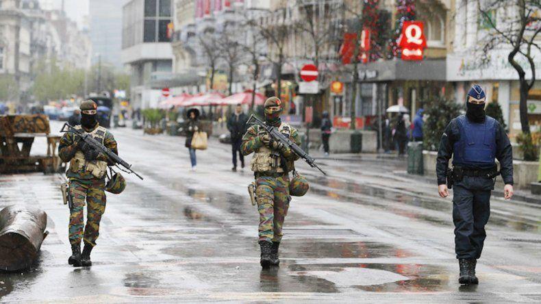 La Policía belga extremó las medidas de control en todo el país.