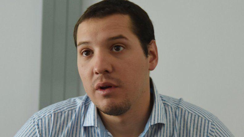 Lucas destacó el esfuerzo que ponen los alumnos y los profesores.