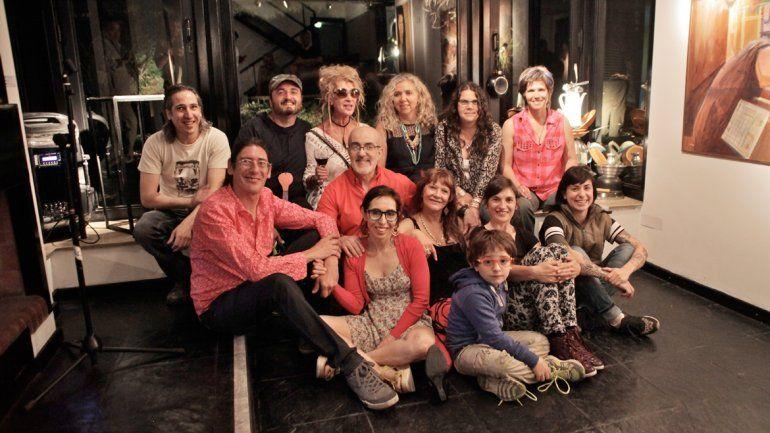 Artistas que participan en la muestra Panorámica en la Casa Gris.