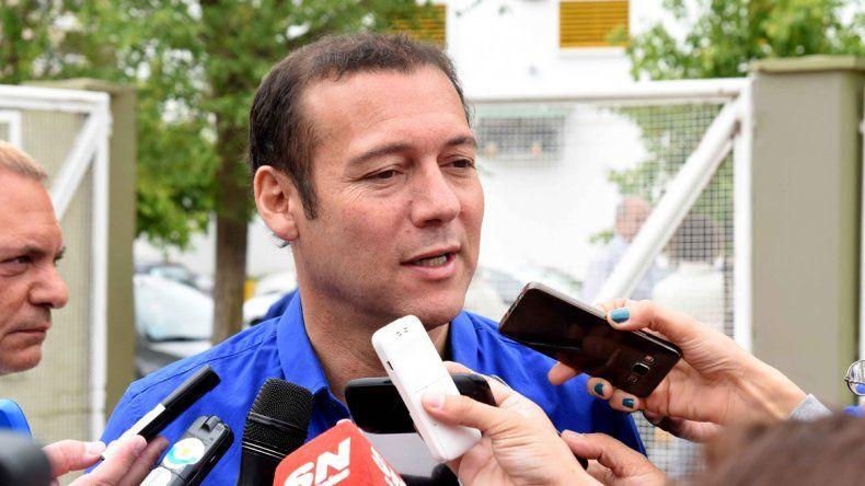 El gobernador electo votó ayer en Neuquén capital.