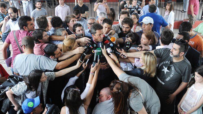 Sergio Massa fijó su posición respecto del nuevo gobierno.