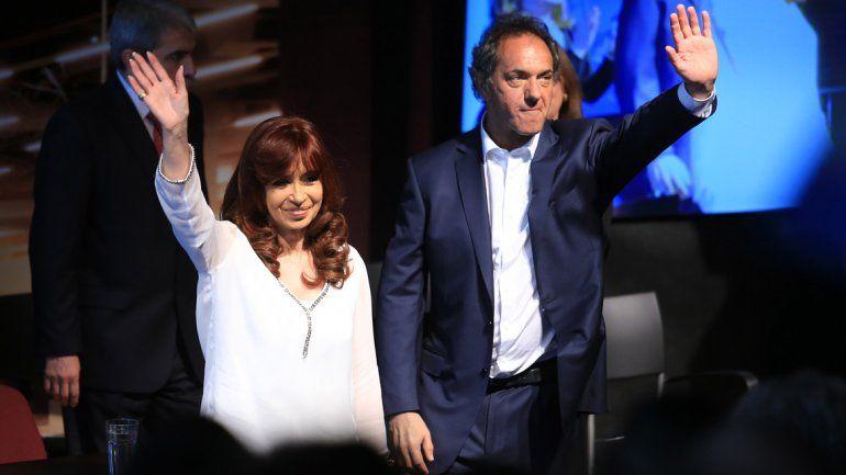 Tras la derrota, Cristina recibió en Olivos a Scioli y Zannini