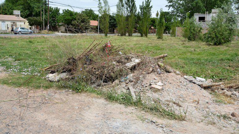 El propietario de los terrenos ya había sido intimado.