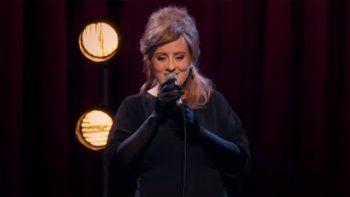 Adele se disfrazó y se infiltró en un concurso de imitadoras