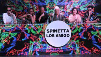 presentaron los amigo, el disco inedito de luis alberto spinetta